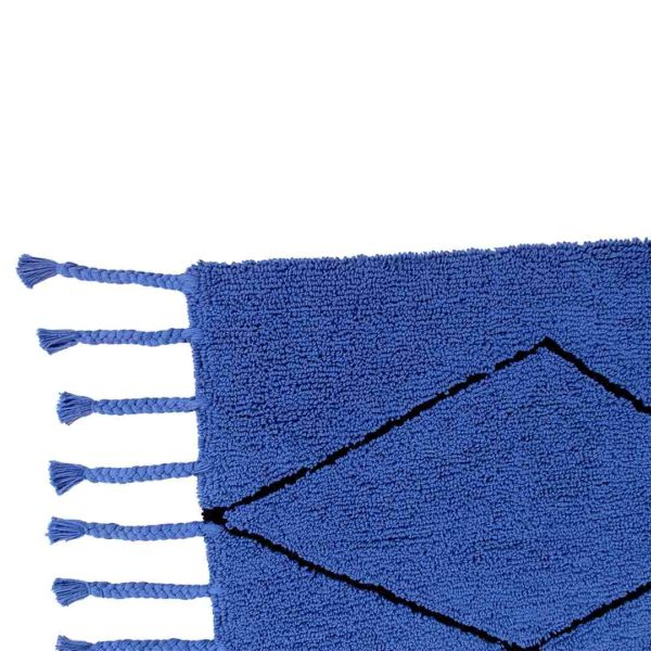 Berber Rug - Klein Blue