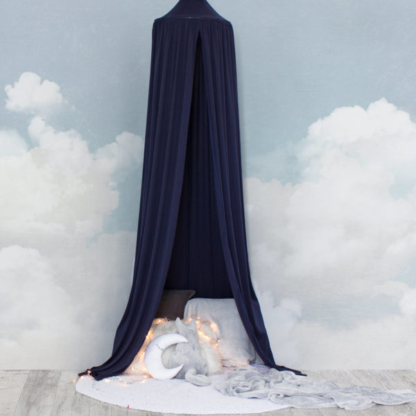 Hanging Tent Canopy - Midnight Blue