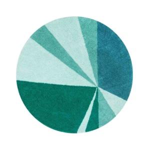 Geometric Rug - Emerald