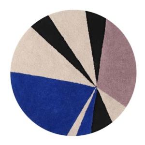 Geometric Rug - Klein Blue