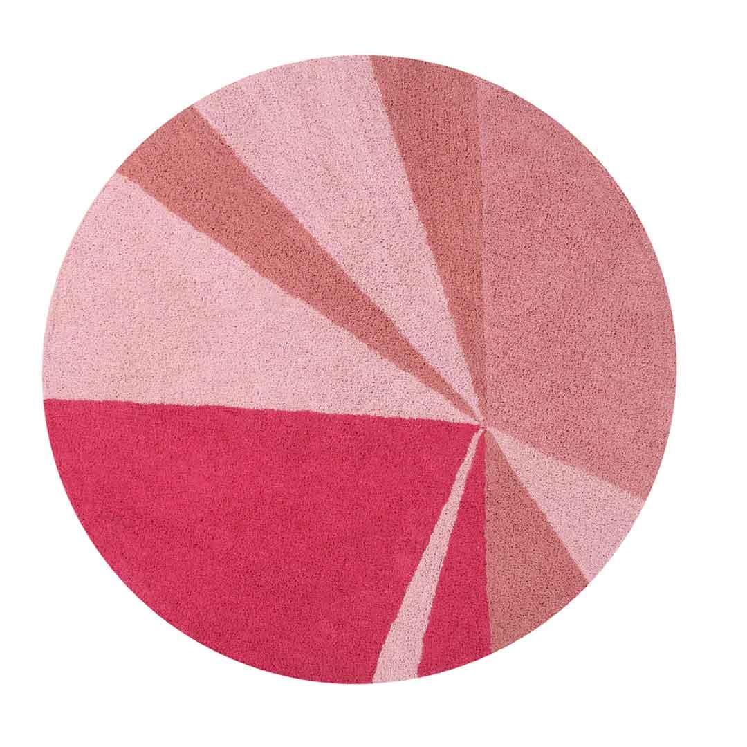 Geometric Rug - Pink