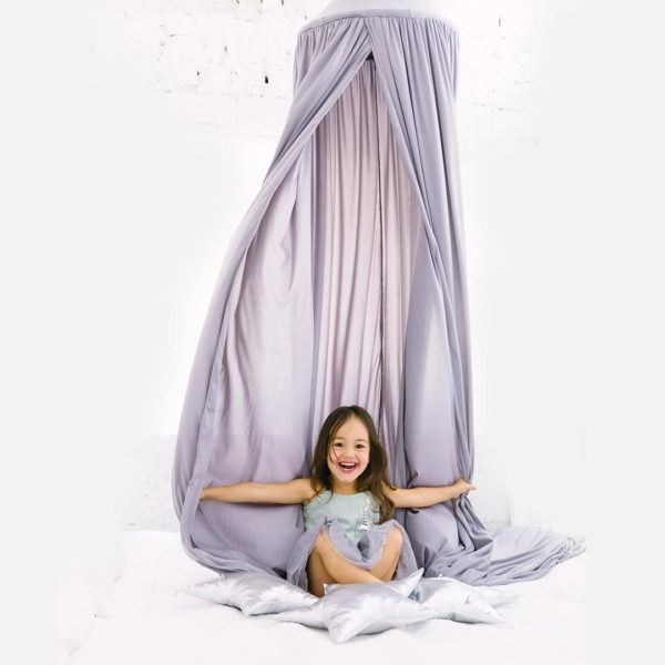 Hanging Tent Canopy - Dove Grey