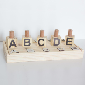 ABC Sorting Toy - Black & White