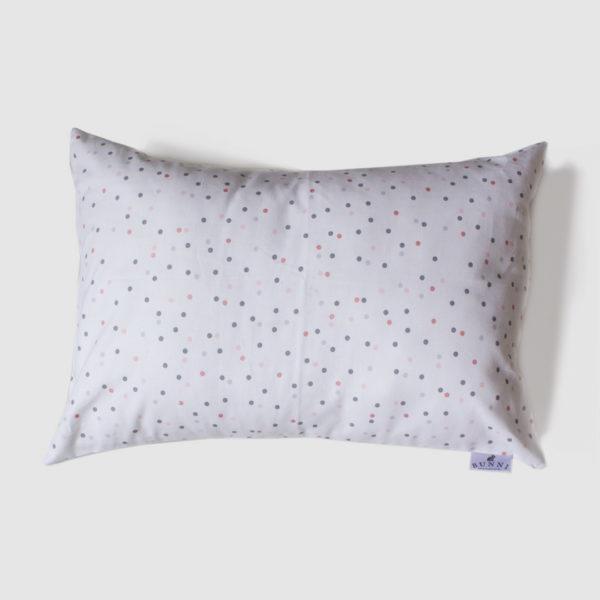 Pink Wild Dot Toddler Pillow