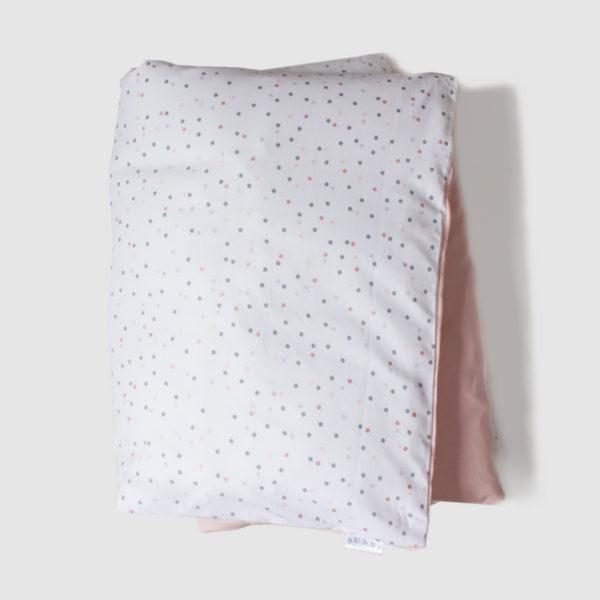Pink Wild Dot Duvet
