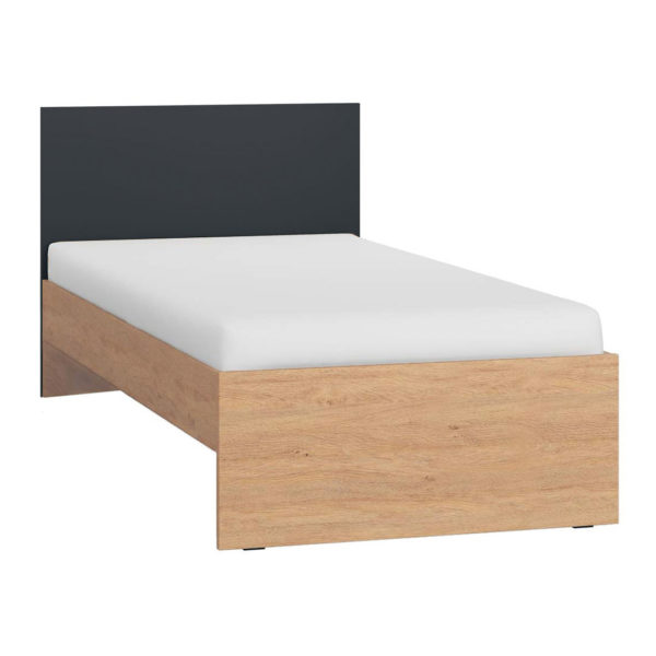 Vox Simple Single Bed - Black