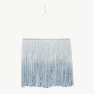 Tie-Dye Wall Hanging - Soft Blue