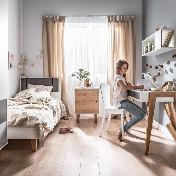 Vox Concept Bed Grey