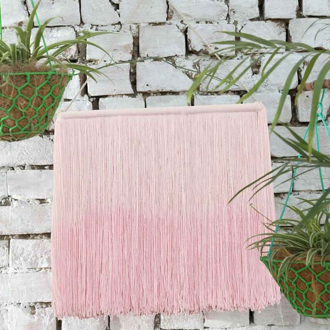 Tie-Dye Wall Hanging - Soft Pink