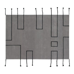 New Collection Lorena Canals Nordic Wool Rug - Grey