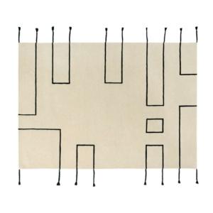 Nordic Lines Wool Rug - Natural