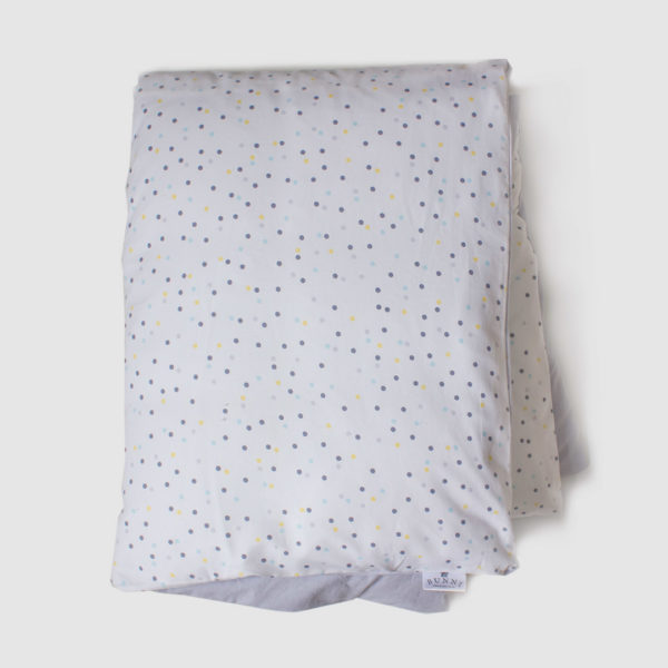 Yellow Wild Dot Cot Duvet