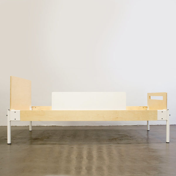 Calvin Bed - Side With Safety Rail