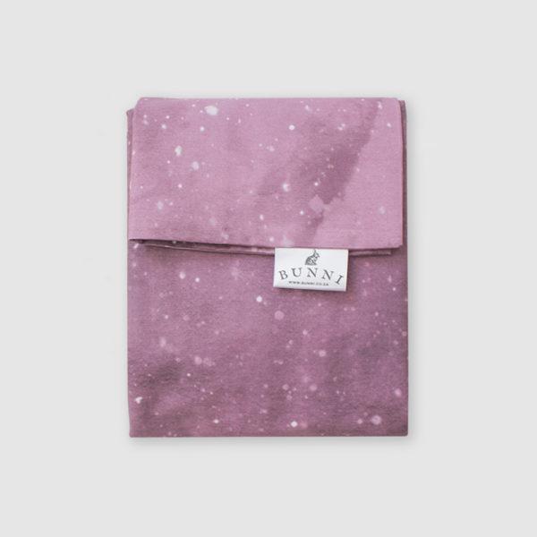 Pink Celestial Cot Duvet Cover