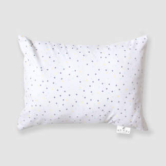 Yellow Wild Dot Toddler Pillow