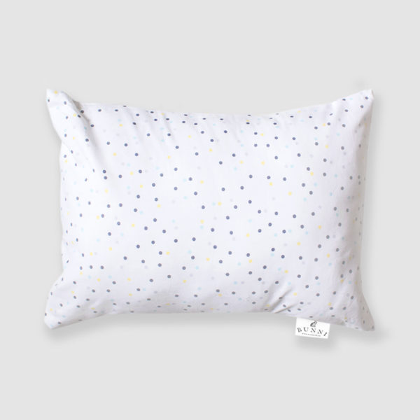 Yellow Wild Dot Toddler Pillow