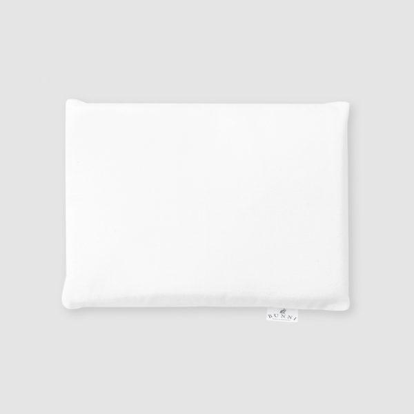 Baby Pillow Cover - White