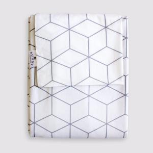 Bunni Charcoal Geometric Duvet Set