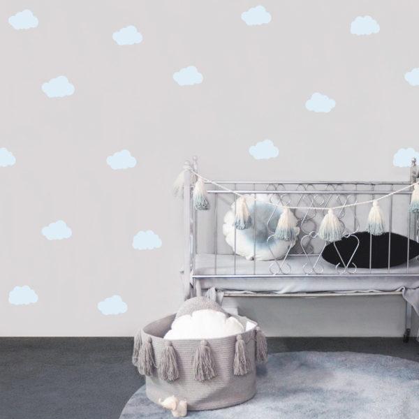 Bunni Cloud Decals - Blue