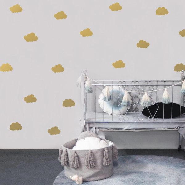 Bunni Cloud Decals - Gold