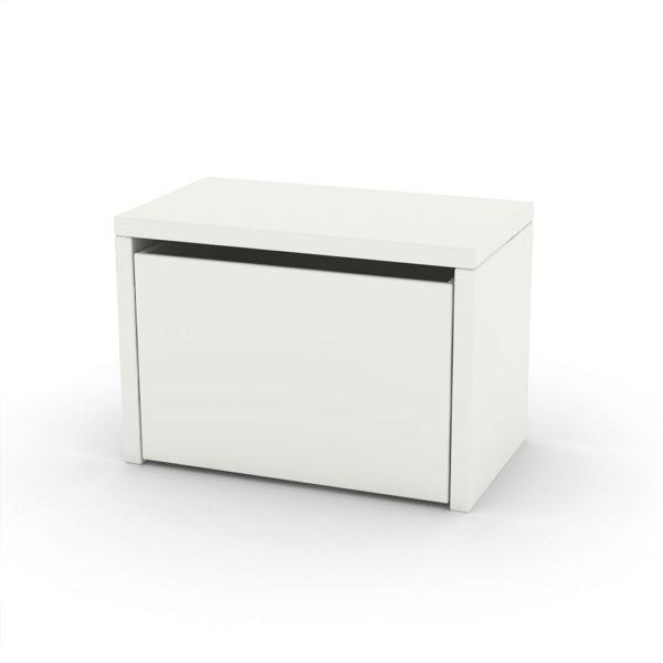 Flexa Play Bench & Storage Box - White