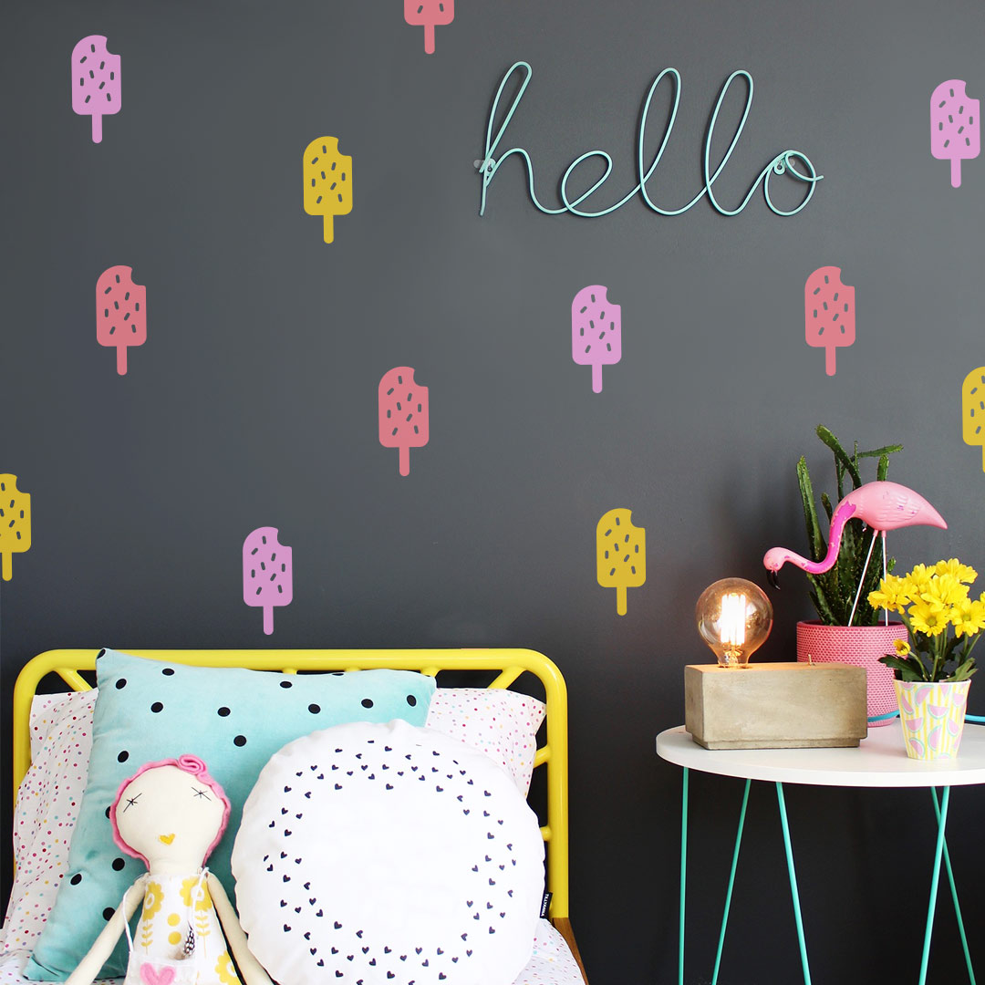 Bunni Ice Cream Wall Decals
