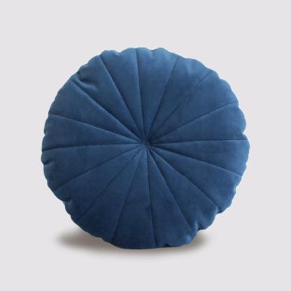 Velvet Circle Scatter - Midnight Blue