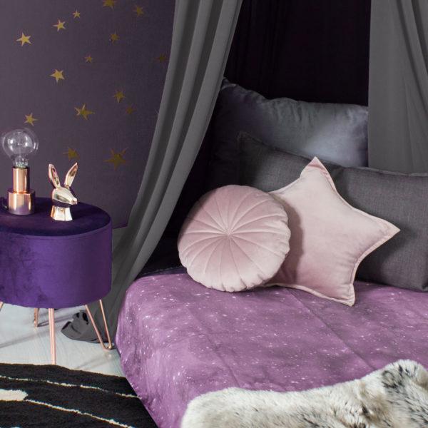 Pink Celestial Duvet Set