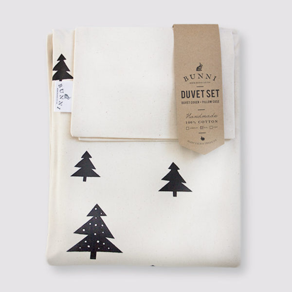 Bunni Natural Skandi Pines Duvet Cover