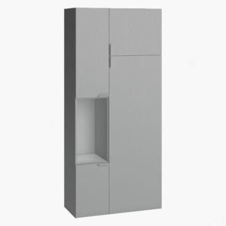 4You Two-Door Wardrobe - Grey