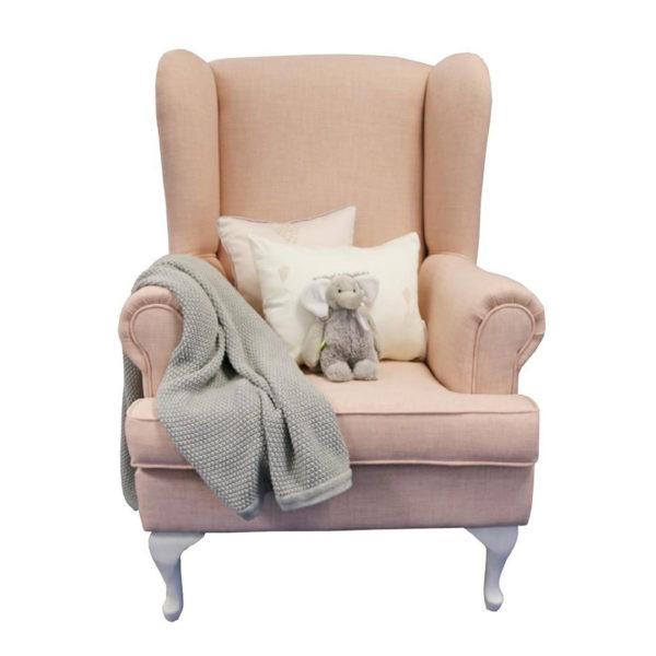Oliver Feeding Chair - Rose Quartz