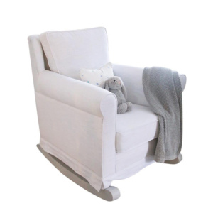 Trés Chic Rocker Chair - Arctic White