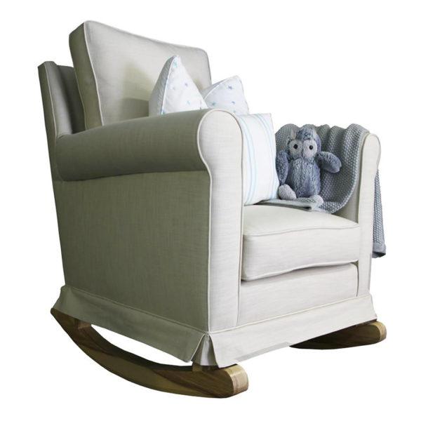 Trés Chic Rocker Chair - Oatmeal
