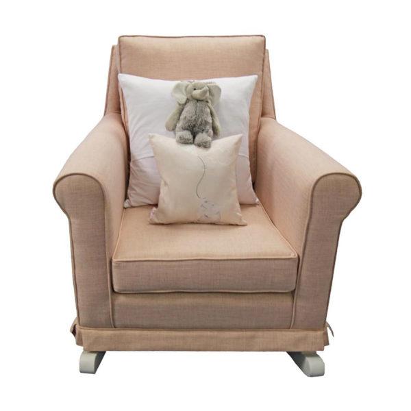 Trés Chic Rocker Chair - Rose Quartz