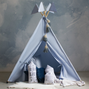 Bunni Flags Ice Blue Teepee
