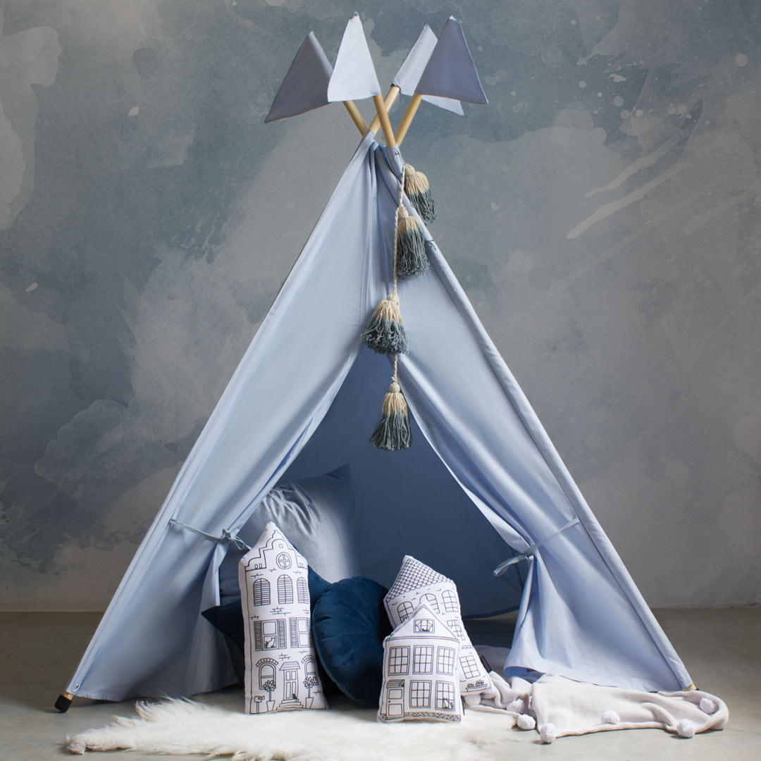Bunni Ice Blue Teepee - Summer