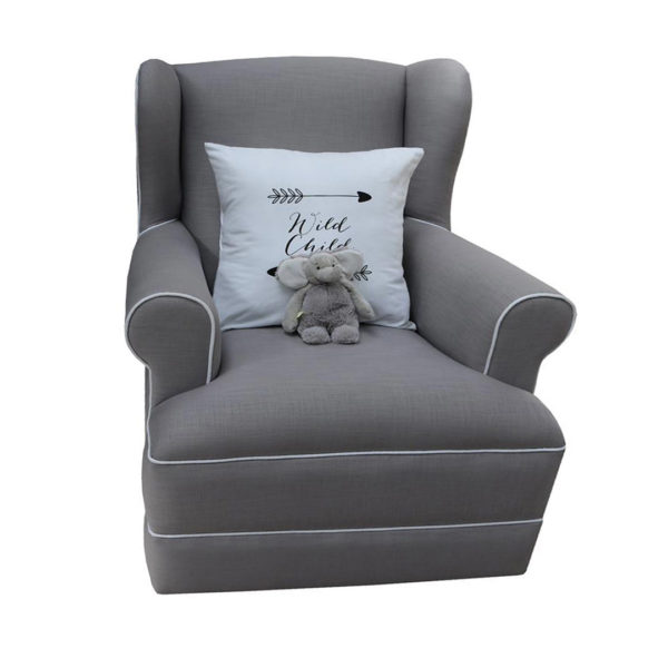 Entrée Feeding Chair - Mineral Grey