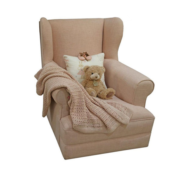 Entrée Feeding Chair - Rose Quartz