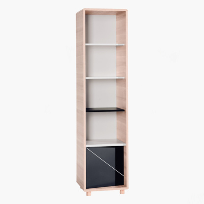 Evolve Narrow Bookcase
