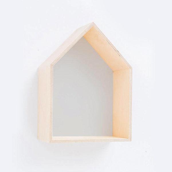 House Shadow Box - Grey