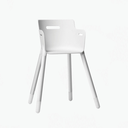 Junior Chair up to 12 yrs - White