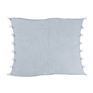 Bubbly Baby Blanket - Soft Blue