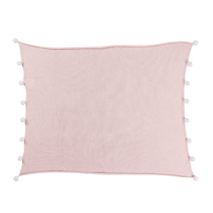 Bubbly Baby Blanket - Soft Pink