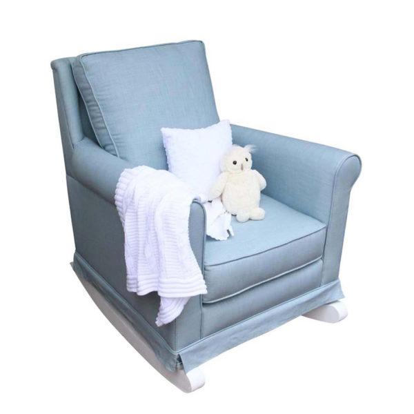 Trés Chic Rocker Chair - Duckegg