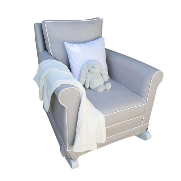 Trés Chic Rocker Chair - Mineral Grey