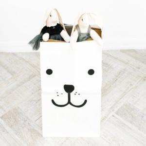 Puppy Paper Storage Bag