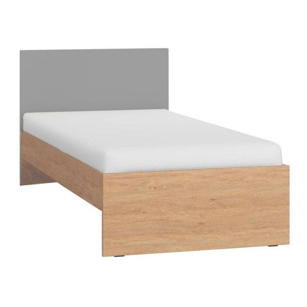 Vox Simple Single Bed - Grey