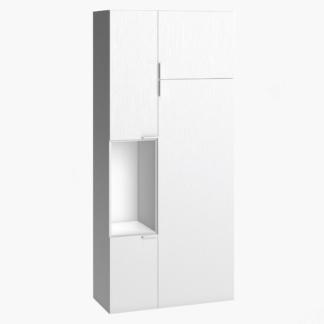 4You Two-Door Wardrobe - White