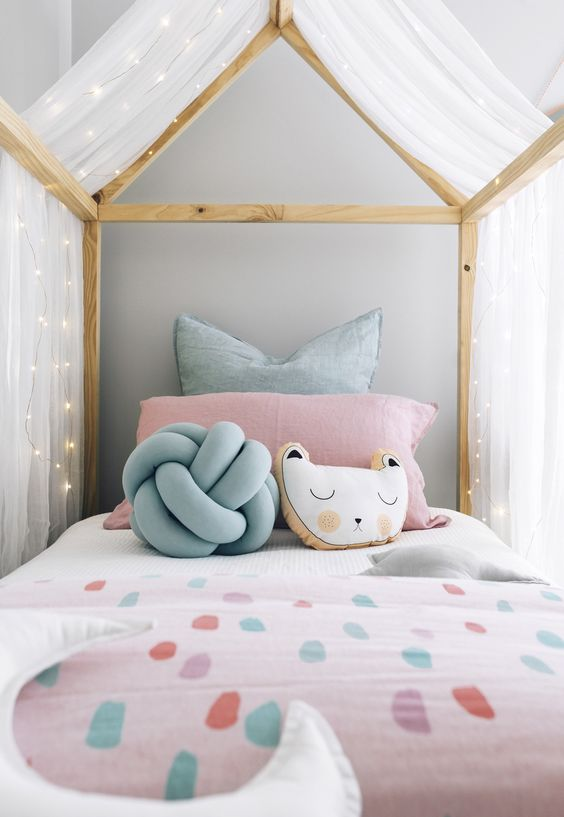 Cute Ways To Style A House Bed Clever Little Monkey