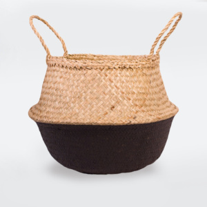 Fable Belly Basket - Black